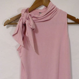 Guess Pink fitted sleeveless top Size Large